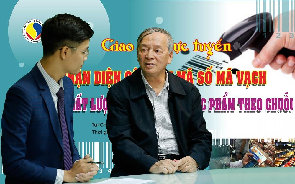 Chuyên gia kinh tế Vũ Vinh Phú trả lời trực tiếp câu hỏi của phóng viên Chất lượng Việt Nam