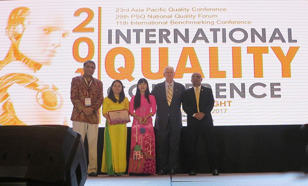 Công ty TNHH Nhà nước MTV Yến Sào Khánh Hòa (tỉnh Khánh Hòa) đạt giải World Class Award cho loại hình dịch vụ lớn