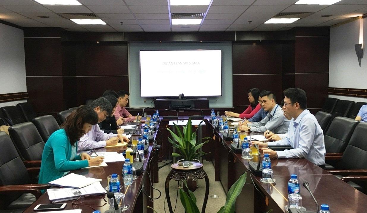 Viện Năng suất Việt Nam làm việc với Tổng công ty Hàng Hải Việt Nam (Vinalines)