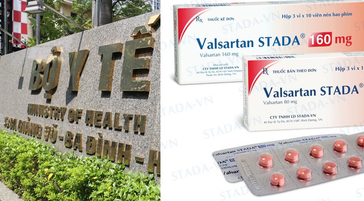 Bộ Y tế đình chỉ lưu hành và thu hồi sản phẩm thuốc có nguyên liệu Valsartan chứa tạp chất nguy cơ gây ung thư của doanh nghiệp Trung Quốc. Ảnh: N.N