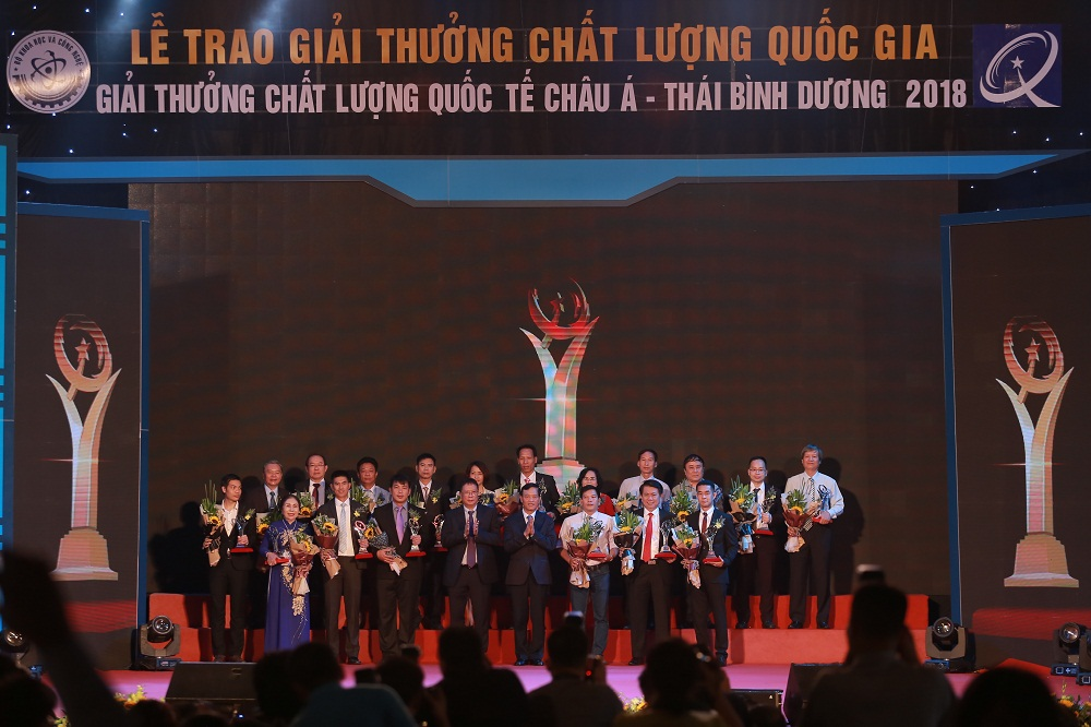 Lễ trao Giải thưởng Chất lượng Quốc gia năm 2018