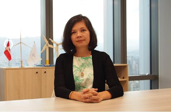 Bà Maya Malik – Tổng Giám đốc Công ty CP Phát triển Dự án Điện gió La Gàn