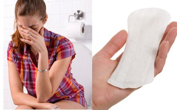 Băng vệ sinh có thể gây viêm nhiễm vùng kín