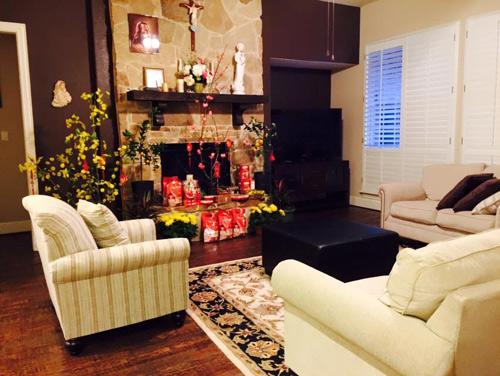 Hồng Ngọc mới hé lộ ngôi nhà ấm cúng và sang trọng