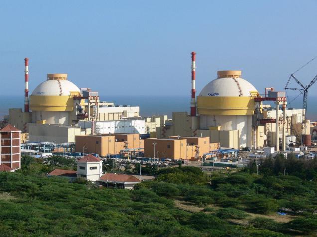 Nhà máy điện hạt nhân Kudankulam, Ấn Độ