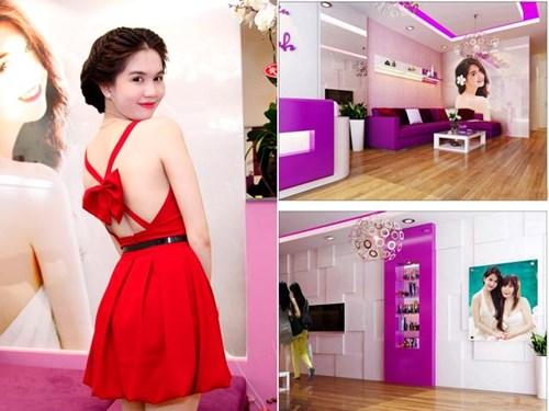 Ngọc Trinh còn là bà chủ của một cửa hiệu thời trang và một spa sang trọng tại TP HCM