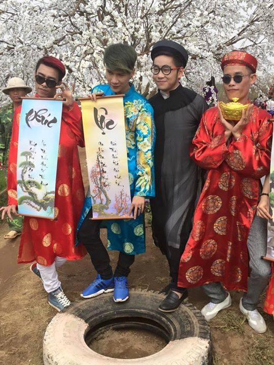 MV nhạc Tết được thực hiện tại vườn đào Nhật Tân sẽ là món quà đón xuân ý nghĩa dành tặng khán giả