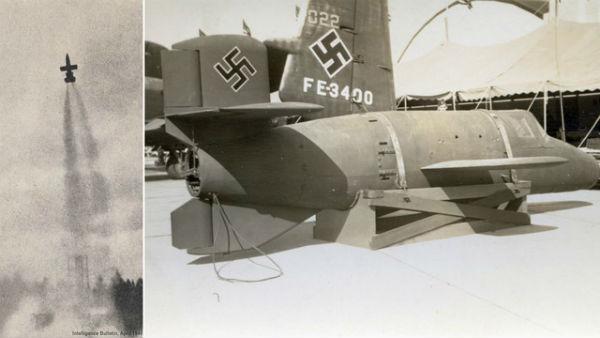 Bachem Ba 349 Natter là loại máy bay đánh chặn có động cơ tên lửa.