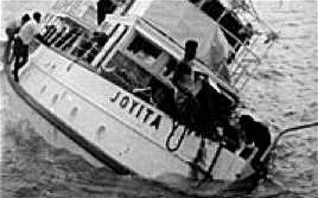 Xuồng cứu sinh không còn và nhiều miếng băng gạc dính máu đã được tìm thấy nhưng số phận những người trên tàu MV Joyita và nguyên nhân của thảm kịch mãi mãi không có lời giải.