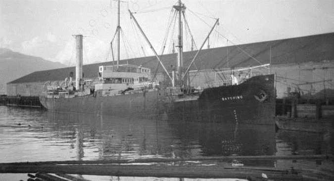 Được sử dụng để buôn bán da thú với người Inuit ở vùng biển băng giá phía Bắc Canada, con tàu Baychimo đã mắc kẹt trong băng vào năm 1931, khiến các thành viên phải bỏ nó lại để thoát thân.