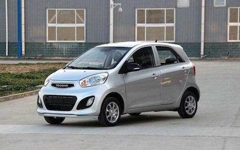 Ô tô Trung Quốc Yogomo với ngoại thất y hệt dòng xe Kia Morning có giá chỉ khoảng 100 triệu