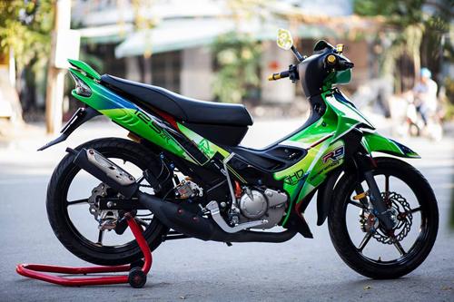 Chiếc xe độ đẹp Yamaha Z125 này là niềm tự hào của Giang Hồng Dân