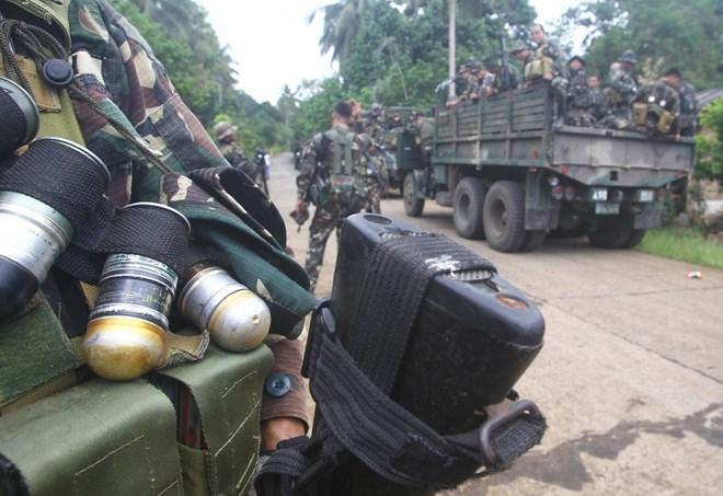 Binh sỹ Philippines tham gia truy quét phiến quân Hồi giáo Abu Sayyaf