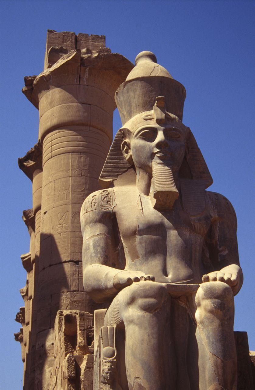 đại đế Ramsess II là một trong những pha-ra-ong vĩ đại nhất lịch sử Ai Cập