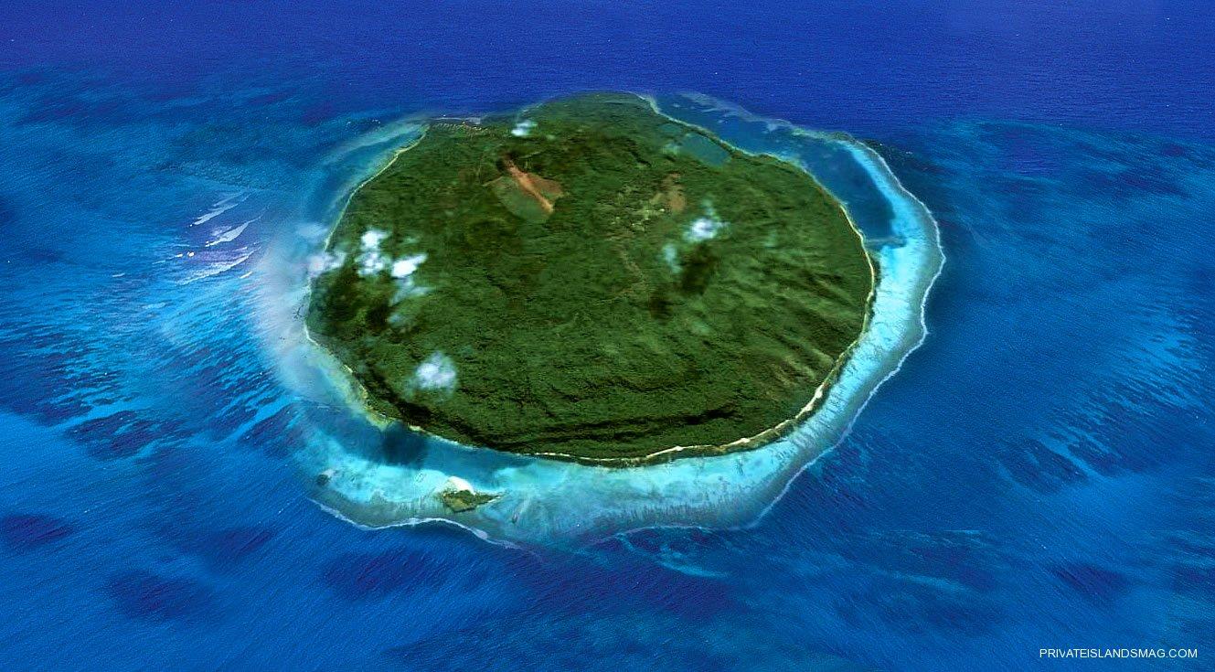 Đảo mago là một trong những hòn tư nhân lớn nhất Thái Bình Dương