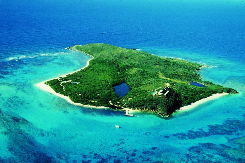 Đảo Necker là khu du lịch nghỉ dưỡng hạng sang trên thế giới