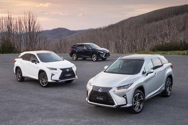 Toyota Việt Nam thu hồi xe ô tô Lexus RX200t và RX350