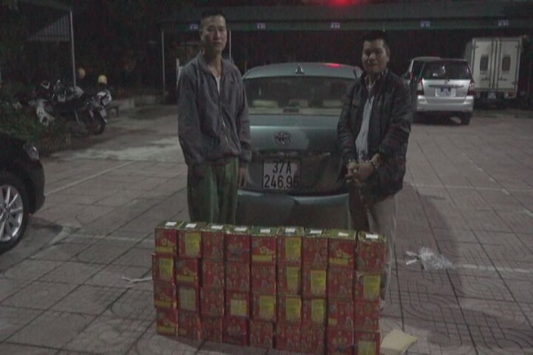 Liên tục phát hiện các vụ vận chuyển pháo nổ trái phép ở Hà Tĩnh