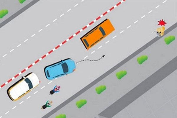 Người điều khiển ô tô cần biết về quy định mới nhất về lỗi vượt phải