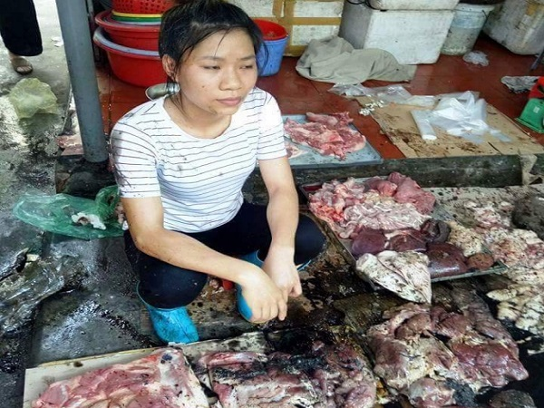 Người hất dầu luyn vào cô gái và phản thịt lợn ở Hải Phòng có thể bị khởi kiện?