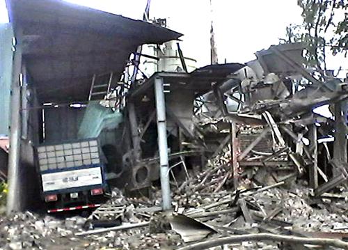 Trước đó vào cuối năm 2015, ở Bà Rịa Vũng Tàu cũng từng xảy ra một vụ nổ lò hơi kinh hoàng khiến 2 người chết