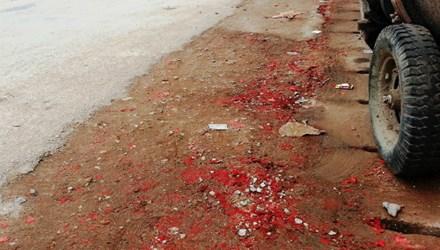 Vụ nổ pháo ở Quảng Ninh trong đêm giao thừa Tết 2015 gây bức xúc trong nhân dân