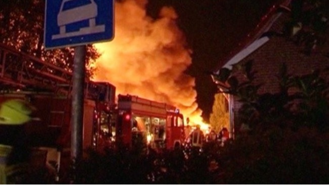 Vụ cháy nổ lớn tại Đức