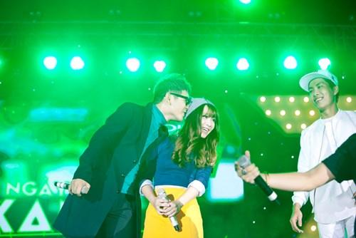 Chương trình còn có sự tham gia của các thí sinh chương trình Giọng hát Việt
