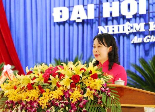 Nữ bí thư tỉnh An Giang vừa tái đắc cử sinh năm 1970 là ai