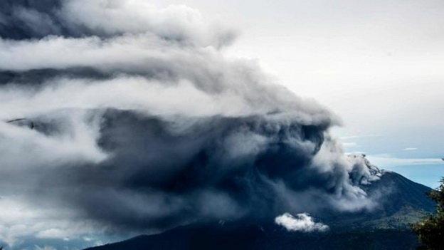 Đây được cho là đợt phun trào mạnh nhất của núi lửa trong 6 năm qua
