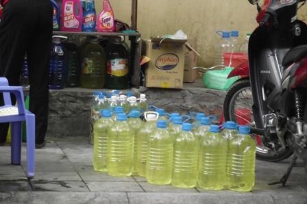 Tràn lan nước rửa bát trên thị trường