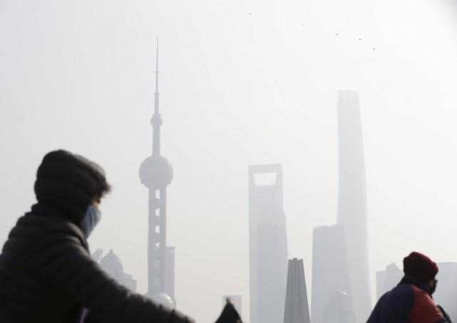 Tình trạng ô nhiễm không khí ở Bắc Kinh đang ở mức cao nhất