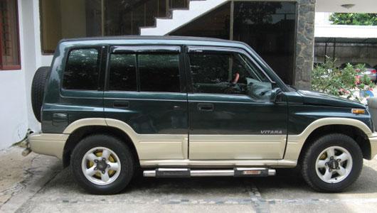 Danh sách ô tô giá rẻ nhất thị trường Việt hiện nay không thể thiếu tên của Suzuki Vitara