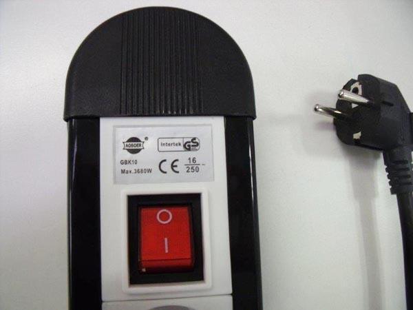 cảnh báo cháy nổ từ ổ điện Trung Quốc kém chất lượng