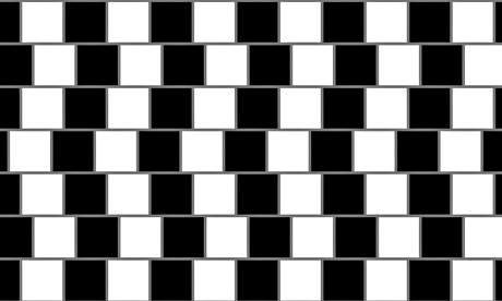 Có thể bạn sẽ thấy đây là những đường đen-trắng