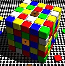 Thực tế hai ô vuông chứa hoa thị có cùng màu sắc