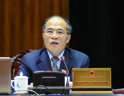 Chủ tịch Quốc hội Nguyễn Sinh Hùng được bầu làm Chủ tịch Hội đồng bầu cử quốc gia