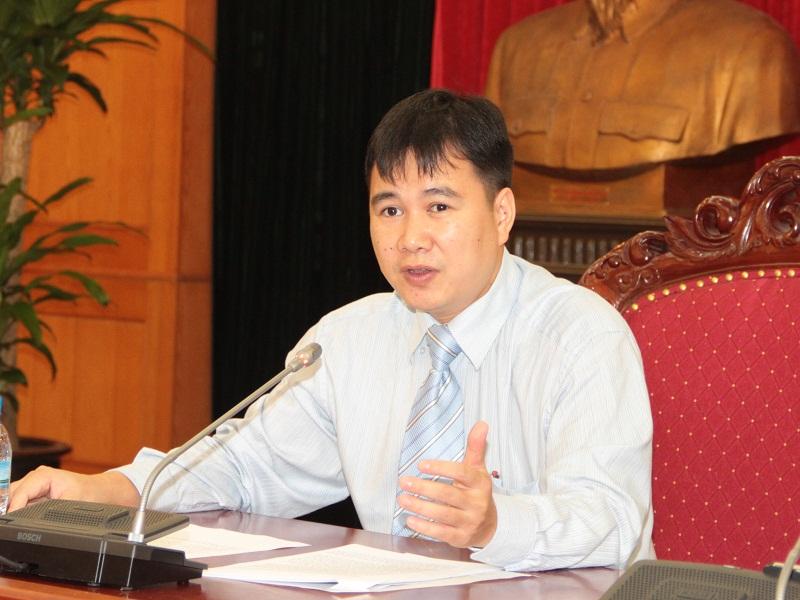 Ông Bùi Thế Duy - Chánh Văn phòng, người phát ngôn của Bộ KH&CN