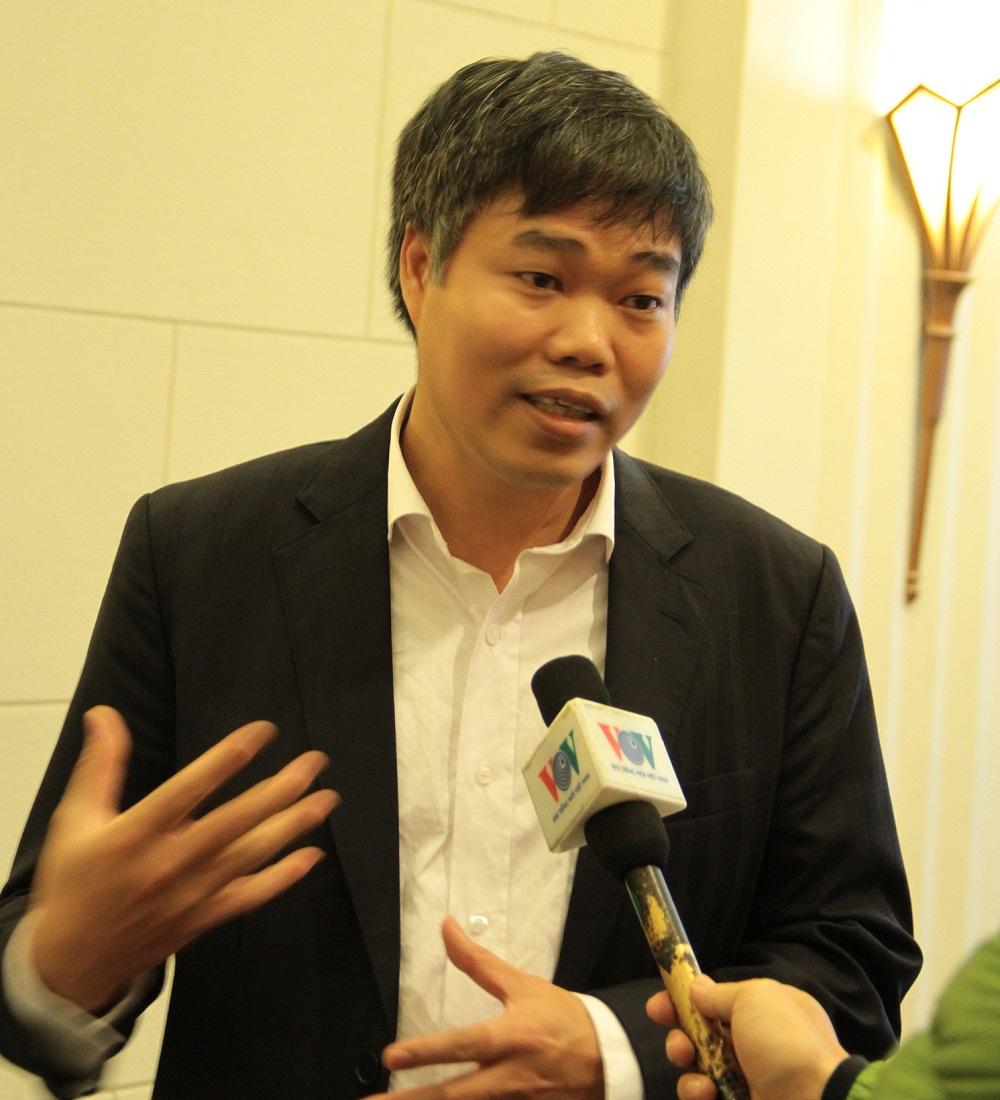 Ông Nguyễn Anh Tuấn - Viện trưởng Viện Năng suất Việt Nam