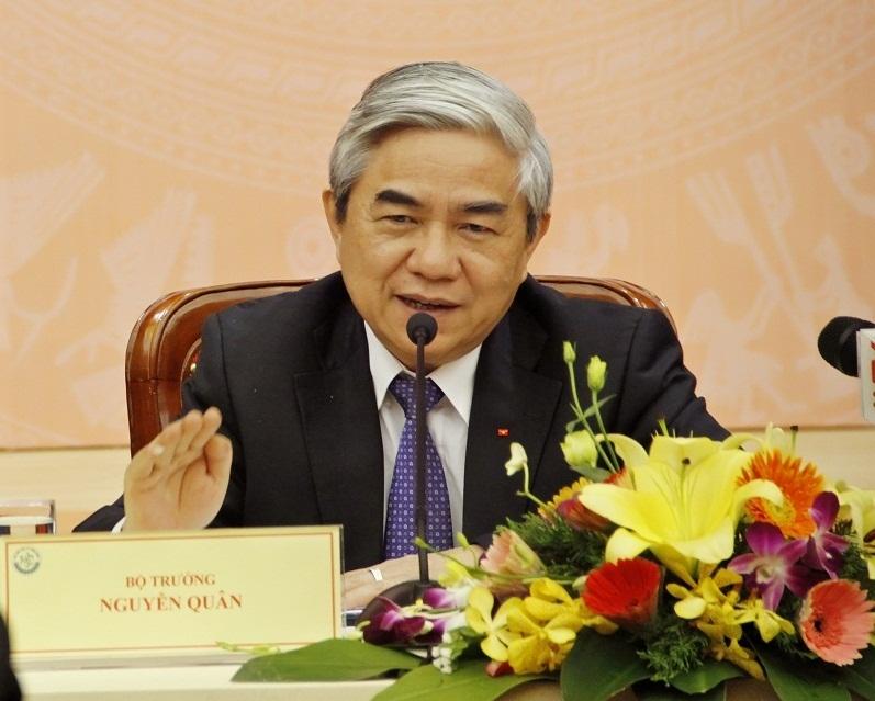 Bộ trưởng Nguyễn Quân khẳng định, sắp tới sẽ có các hỗ trợ về tài chính cho các nhà sáng chế không chuyên