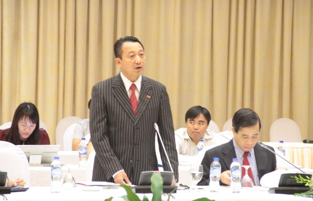 ông Nguyễn Quang Vinh - Ủy viên ban thường trực - Phó tổng thư ký Phòng Thương mại và Công nghiệp Việt Nam (VCCI)