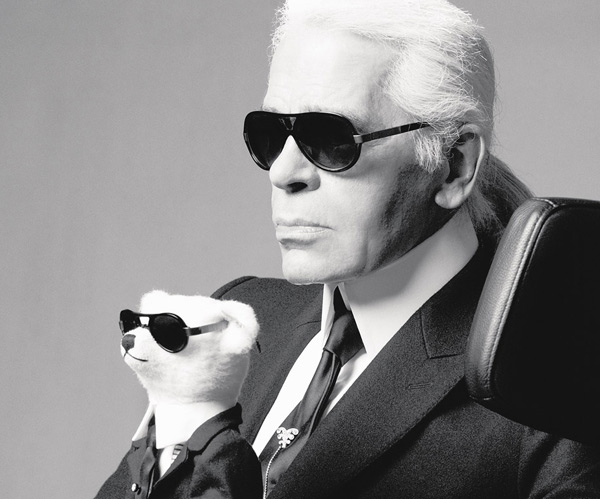 ông hoàng thời trang Karl Lagerfeld 1
