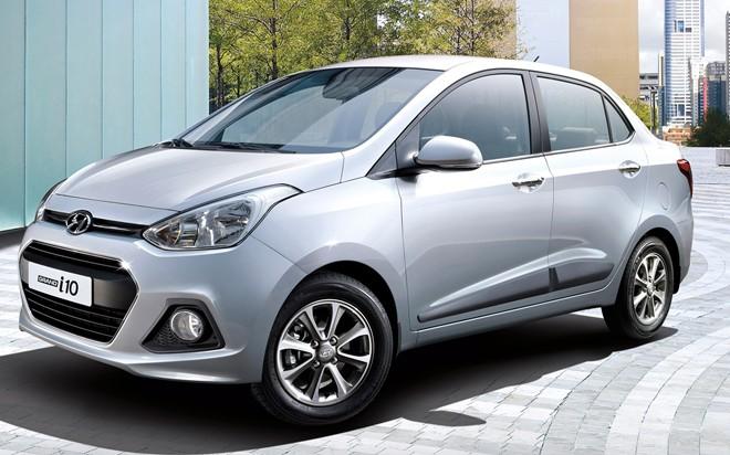 Ô tô giá rẻ Hyundai Grand i10 sedan là một lợi thế cạnh tranh lớn đối với những hãng xe khác trên thị trường Việt Nam