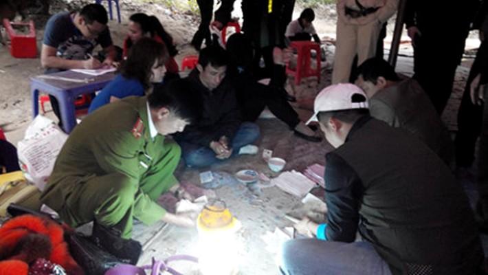 phá sới bạc ở Đông Triều Quảng Ninh