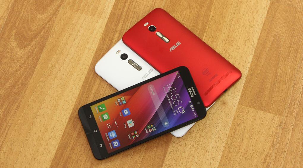 Zenfone 2 là phablet giá rẻ của Asus với cấu hình mạnh