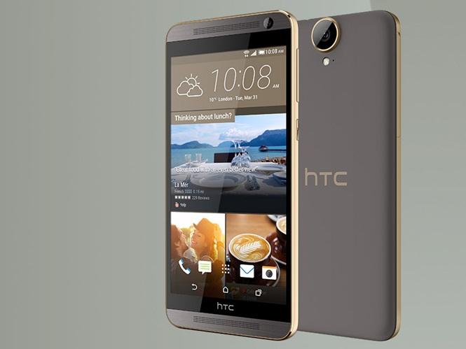 HTC One E9 Plus mang thiết kế đặc trưng của dòng HTC One