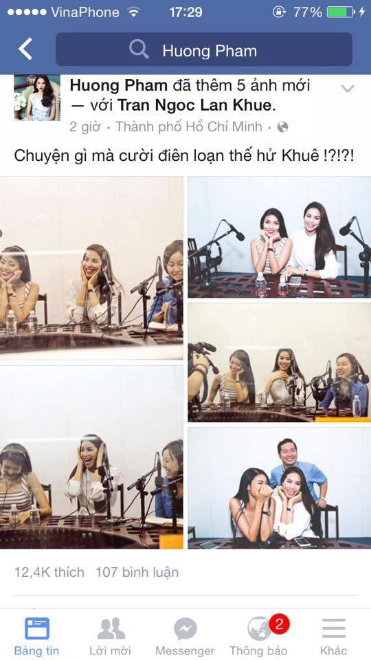 Phạm Hương 'tung' bằng chứng xóa bỏ tin đồn hiềm khích với Lan Khuê