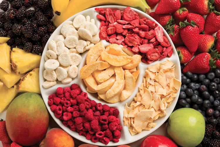 trái cây sấy khô nhập khẩu