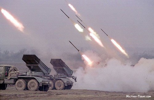 Cơn bão lửa do pháo phản lực BM-21 Grad gây ra luôn là nỗi khiếp sợ đối với đối thủ của nó trên chiến trường