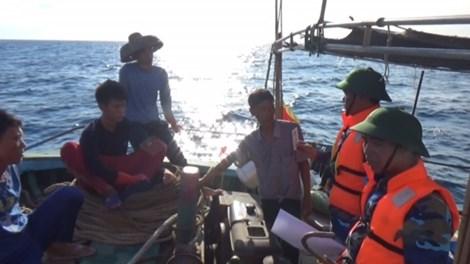 Lực lượng Bộ đội biên phòng Quảng Bình yêu cầu tàu cá Trung Quốc ngay lập tức ra khỏi phạm vi Biển Đông Việt Nam